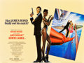 "Movie Posters:James Bond, A View to a Kill (United Artists, 1985). British Quad (30"" X 40"")....."