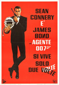 "Movie Posters:James Bond, You Only Live Twice (Dear Film-United Artists, 1967). ItalianFoglio (27.5"" X 39.5"").. ..."