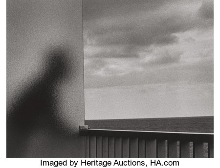André Kertész (Hungarian, 1894-1985) Martinique, January 1, 1972 Gelatin silver, printed later 10-1/2 x 13-3/4 inches...