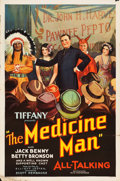 """Movie Posters:Comedy, The Medicine Man (Tiffany, 1930). One Sheet (27"""" X 41"""") Style B....."""