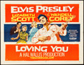 "Movie Posters:Elvis Presley, Loving You (Paramount, 1957). Half Sheet (22"" X 28"") Style A.. ..."