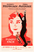 "Movie Posters:Romance, Funny Face (Paramount, 1957). One Sheet (27"" X 41"").. ..."