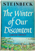 Books:Literature 1900-up, John Steinbeck. The Winter of Our Discontent. New York:Viking Press, 1961....