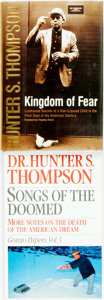 Books:Biography & Memoir, Hunter S. Thompson. Pair of Titles, One of Which is SIGNED. NewYork: [various publishers], [1990 and 2003].... (Total: 2 Items)