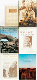 Books:Biography & Memoir, Wallace Stegner. Group of Six Titles. Various publishers and dates.... (Total: 6 Items)