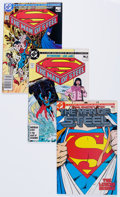 Modern Age (1980-Present):Superhero, Man of Steel #1-6 Complete Miniseries Box Lot (DC, 1986) Condition:Average NM-....