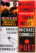 Books:Mystery & Detective Fiction, Michael Connelly. Group of Four SIGNED Titles. Boston: Little,Brown and Company, [various dates].... (Total: 4 Items)