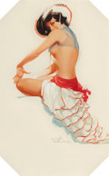 Pin-up and Glamour Art, Ted Withers (American, 1896-1964). Hacienda Pin-Up. Gouacheon board. 24.5 x 15 in. (sight). Signed lower right. ...