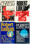 Books:Mystery & Detective Fiction, Robert Ludlum. Group of Four SIGNED or INSCRIBED First Editions. Various publishers, 1978 - 1995. ... (Total: 4 Items)