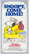 "Movie Posters:Animation, Snoopy, Come Home! (National General, 1972). Three Sheet (41"" X 76.5""). Animation.. ..."