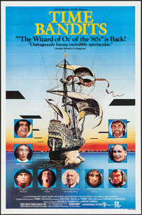 """Time Bandits & Other Lot (Embassy, R-1982). One Sheets (2) (27"""" X 41""""). Fantasy. ... (Total: 2 Items)"""