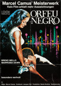 "Movie Posters:Foreign, Black Orpheus (Look, R-1972). German A1 (23.25"" X 33""). Foreign.. ..."