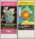 """Movie Posters:Documentary, Fluid Drive & Other Lot (Freemont International Pictures, R-1976). Australian Daybills (2) (13"""" X 29.75""""). Documentary.. ... (Total: 2 Items)"""