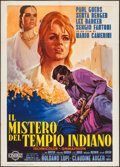 "Movie Posters:Foreign, The Mystery of the Indian Temple & Other Lot (Cineriz, 1963). Italian 2 - Foglio (39.25"" X 55"") and Italian Locandina (13"" X... (Total: 2 Items)"
