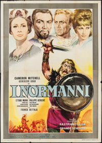 "Attack of the Normans (Paramount Films of Italy, 1962). Italian 4 - Foglio (54.75"" X 77.75""). Foreign"