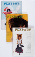Magazines:Miscellaneous, Playboy Complete Years 1966-69 Group (HMH Publishing, 1966-69)Condition: Average VF+.... (Total: 48 Items)