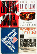 Books:Mystery & Detective Fiction, Robert Ludlum. Group of Four, SIGNED or INSCRIBED. Variouspublishers, 1972 - 1997. ... (Total: 4 Items)