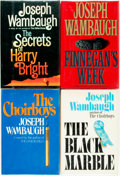 Books:Mystery & Detective Fiction, Joseph Wambaugh. Group of Four SIGNED First Editions. Variouspublishers, 1975 - 1993. ... (Total: 4 Items)