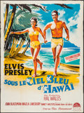 "Movie Posters:Elvis Presley, Blue Hawaii (Paramount, 1962). French Grande (46.5"" X 62""). ElvisPresley.. ..."