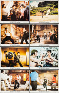 "Movie Posters:Action, Return of the Dragon (Bryanston, 1974). Lobby Card Set of 8 (11"" X 14""). Action.. ... (Total: 8 Items)"