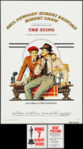 "Movie Posters:Crime, The Sting (Universal, 1973). One Sheet (27"" X 41""). Crime.. ...(Total: 2 Items)"