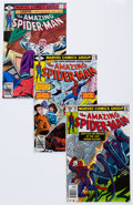 Modern Age (1980-Present):Superhero, The Amazing Spider-Man Box Lot (Marvel, 1979-81) Condition: AverageNM-....