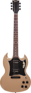 Musical Instruments:Electric Guitars, 2013 Gibson Government Series II SG Government Tan Solid BodyElectric Guitar, Serial # 128830611....