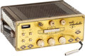Musical Instruments:Amplifiers, PA, & Effects, 1960's Klemt Echolette 5 Brass Echo Unit, Serial # 7566....