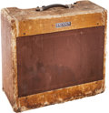 Musical Instruments:Amplifiers, PA, & Effects, 1953 Fender Pro Amp Tweed Guitar Amplifier, Serial # 3848....