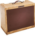 Musical Instruments:Amplifiers, PA, & Effects, 1957 Fender Super Amp Tweed Guitar Amplifier, Serial # S01219....