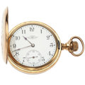 Timepieces:Pocket (post 1900), Ball Multi-Color Hunter's Case Pocket Watch. ...