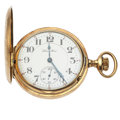Timepieces:Pocket (post 1900), Hamilton 21 Jewel Series 993 Hunter's Case Pocket Watch. ...