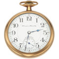 "Timepieces:Pocket (post 1900), Hampden 17 Jewel ""Wm McKinley"" Pocket Watch. ..."