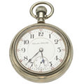 """Timepieces:Pocket (post 1900), Hamilton 21 Jewel """"The Banner Special"""" Pocket Watch. ..."""