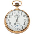 Timepieces:Pocket (post 1900), Elgin 21 Jewel Father Time Up/Down Indicator Pocket Watch. ...