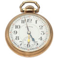 Timepieces:Pocket (post 1900), Illinois 21 Jewel 60 Hour Bunn Special Double Time Zone PocketWatch. ...