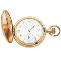 Waltham 23 Jewel Vanguard 18 Size Hunter's Case Pocket Watch