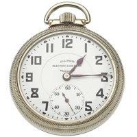 Illinois 21 Jewel Bunn Special Open Face pocket Watch