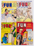 Magazines:Humor, Army and Navy Fun Parade File Copies Box Lot (Fun Parade,1940s-50s) Condition: Average FN/VF....