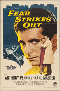 "Fear Strikes Out (Paramount, 1957). One Sheet (27"" X 41""). Drama"
