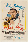 """Movie Posters:Fantasy, The Horn Blows at Midnight (Warner Brothers, 1945). One Sheet (27""""X 41"""") & Lobby Card (11"""" X 14""""). Fantasy.. ... (Total: 2 Items)"""