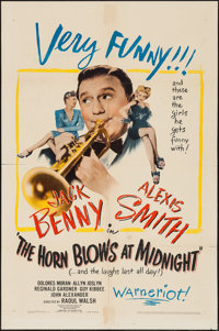 """The Horn Blows at Midnight (Warner Brothers, 1945). One Sheet (27"""" X 41"""") & Lobby Card (11"""" X 14&..."""