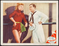 "Movie Posters:Musical, On the Town (MGM, 1949). Lobby Card (11"" X 14""). Musical.. ..."