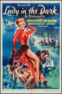 """Lady in the Dark (Paramount, 1944). One Sheet (27"""" X 41""""). Comedy"""