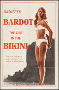 """Movie Posters:Foreign, The Girl in the Bikini (Atlantis Films, 1958). One Sheet (27"""" X 41""""). Foreign.. ..."""