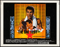 "The Greatest (Columbia, 1977). Half Sheet (22"" X 28""). Sports"