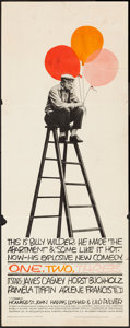 "Movie Posters:Comedy, One, Two, Three (United Artists, 1962). Insert (14"" X 36""). Comedy.. ..."
