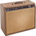 Musical Instruments:Amplifiers, PA, & Effects, 1961 Fender Deluxe Amplifier Brown Guitar Amplifier, Serial # D00325....