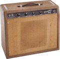 Musical Instruments:Amplifiers, PA, & Effects, 1961 Fender Princeton Brown Guitar Amplifier, Serial # P00380....