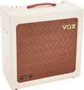 Musical Instruments:Amplifiers, PA, & Effects, 2007 Vox H1TVL White Guitar Amplifier, Serial # 15H1TVL000124....